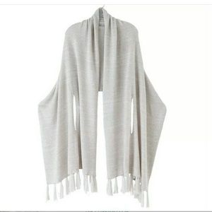Mudpie sommer sweater wrap poncho